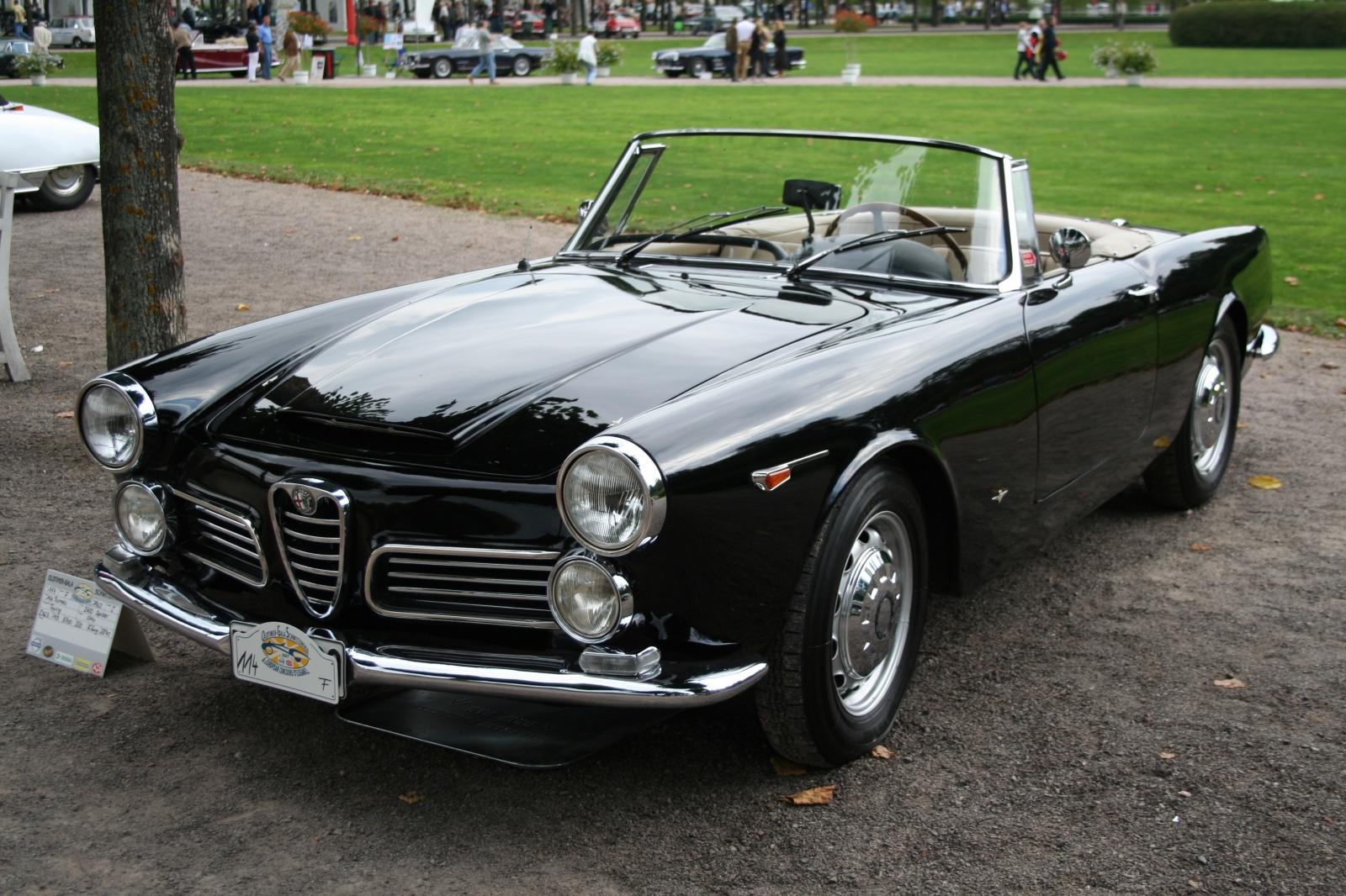 Alfa Romeo 2600 Spider Touring Bildersammlung Von